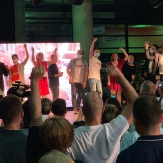 The green-left coalition achieves game-changing results in the parliamentary elections in Croatia