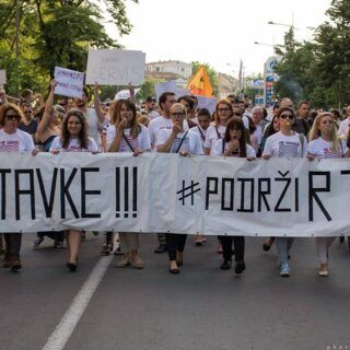 Protests announced over dismissal of Radio-Television of Vojvodina employees